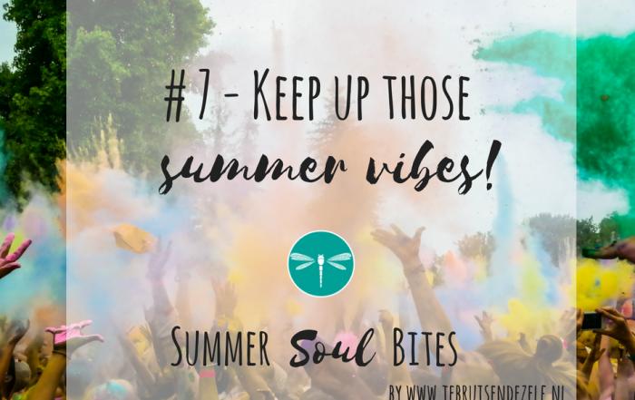 Wat zijn jouw plannen voor na de zomer? Wat neem je mee aan summer vibes? Hoe hou je die bruisende zonne-energie vast en sluit je jouw jaar knallend af?
